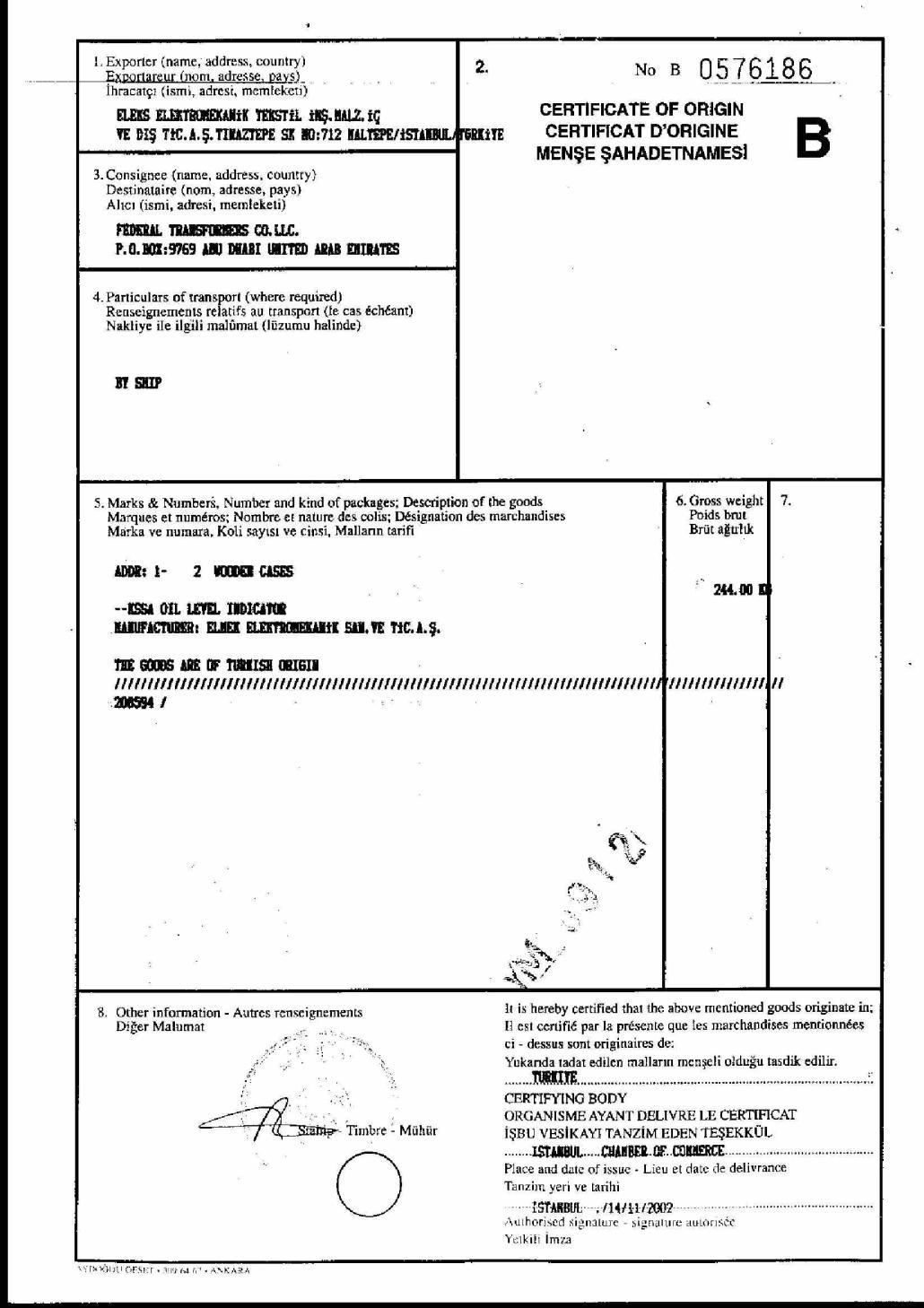Certificate Of Origin Sample Letter from web.boun.edu.tr